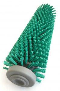 зеленая щетка для поломоечной машины